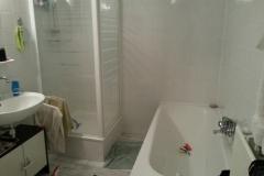 Badkamer en toilet voor/na