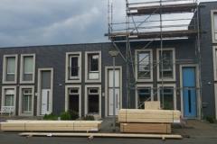 Twee dakopbouwen
